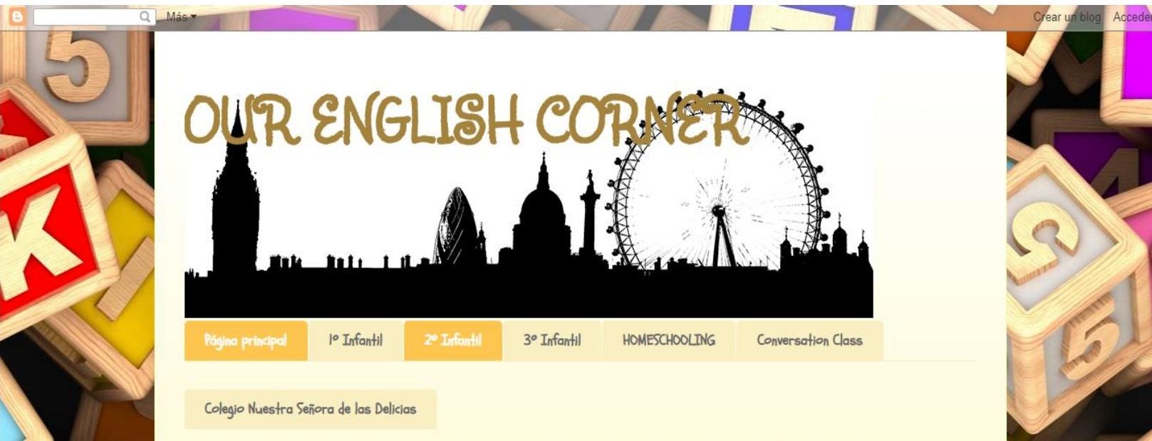 OUR ENGLISH CORNER