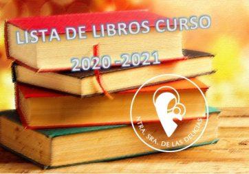 LISTA DE LIBROS-CURSO 2020 – 2021