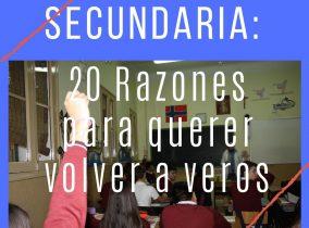 SECUNDARIA: 20 Razones para…