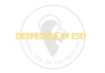 """DESPEDIDA """"ONLINE"""" 4º ESO 2020 <BR/>11 JUNIO"""