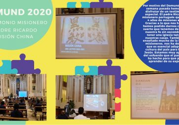 DOMUND 2020 – PADRE RICARDO – MISIÓN EN CHINA
