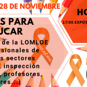 TARDE DE LAS FAMILIAS <br/> 28 de noviembre