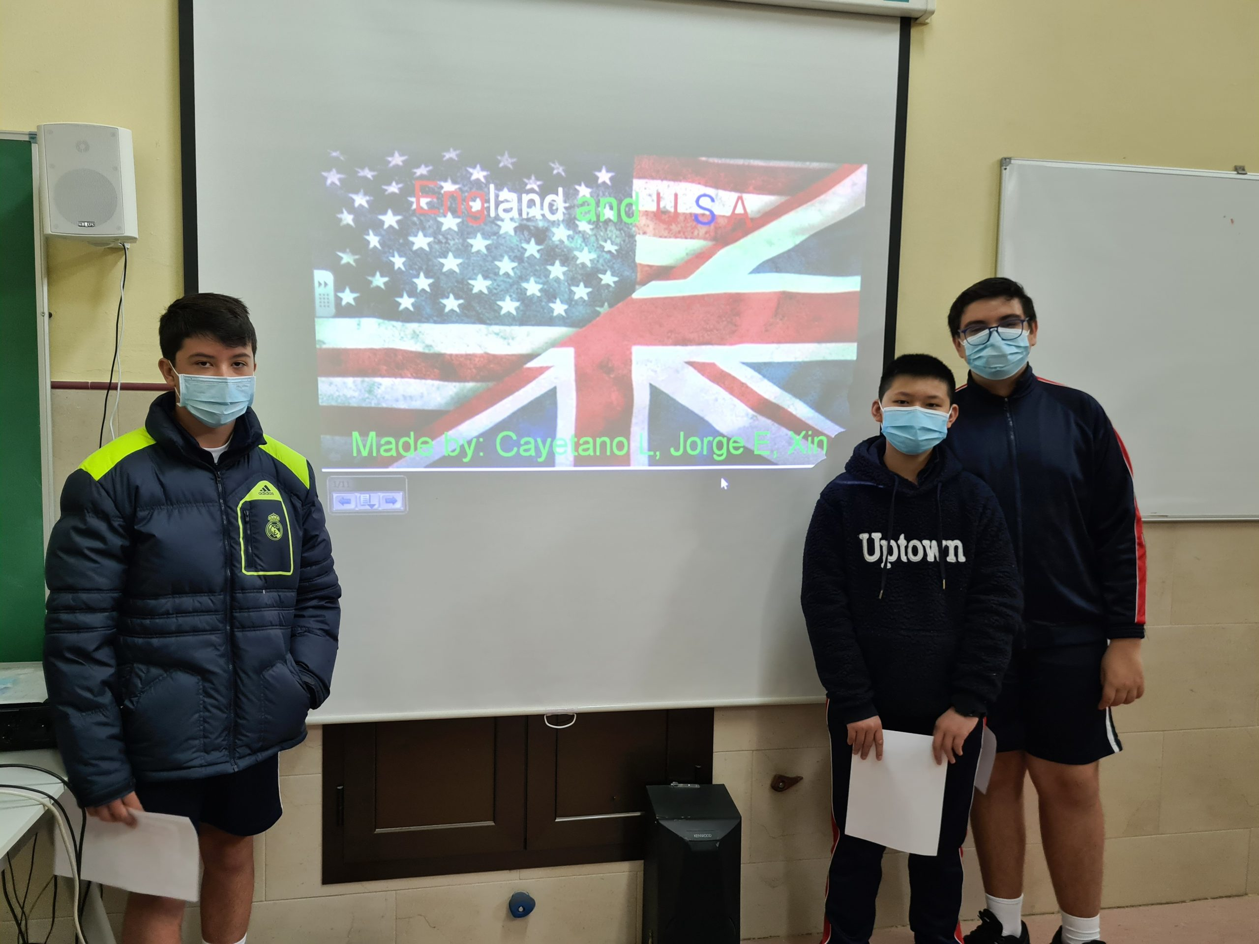 ENGLISH PRESENTATIONS IN SECONDARY