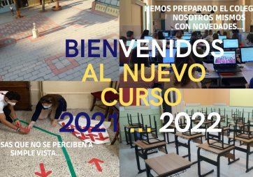 Bienvenidos al nuevo curso 2021-2022