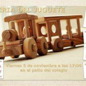 3ª Feria del juguete </br>5 noviembre 17:00